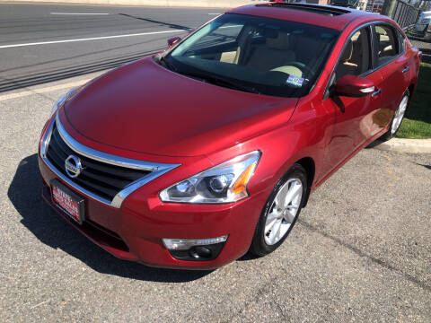 2013 Nissan Altima for sale at STATE AUTO SALES in Lodi NJ