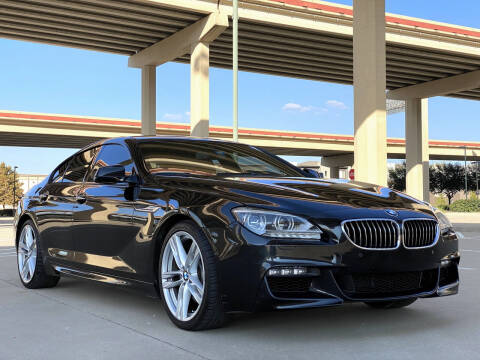 2015 BMW 6 Series for sale at Mr. Old Car in Dallas TX