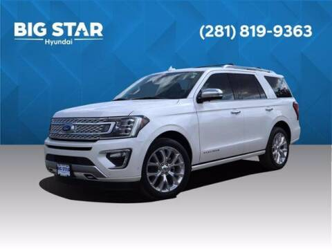 2019 Ford Expedition for sale at BIG STAR HYUNDAI in Houston TX