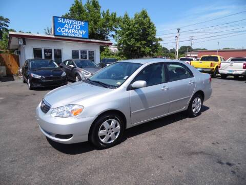 2006 Toyota Corolla for sale at Surfside Auto Company in Norfolk VA