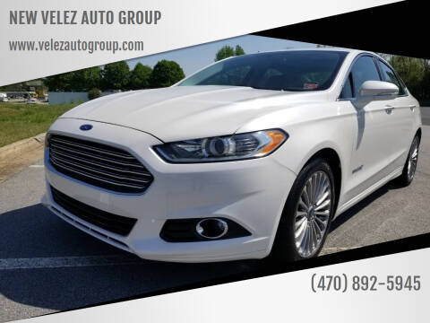 2013 Ford Fusion Hybrid for sale at NEW VELEZ AUTO GROUP in Gainesville GA
