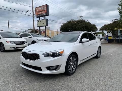 2015 Kia Cadenza for sale at Autohaus of Greensboro in Greensboro NC