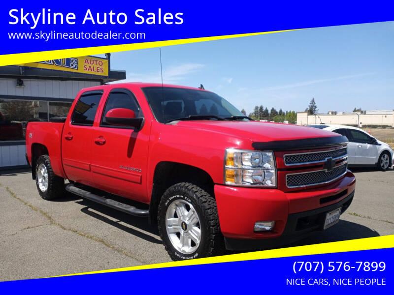 2013 Chevrolet Silverado 1500 for sale at Skyline Auto Sales in Santa Rosa CA