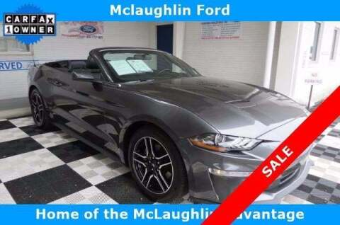 2019 Ford Mustang for sale at McLaughlin Ford in Sumter SC