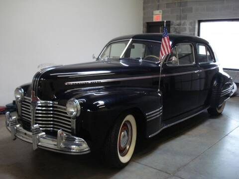 1941 Pontiac Custom Torpedo for sale at DRIVE INVESTMENT GROUP in Frederick MD