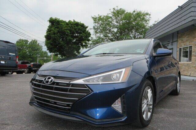 2020 Hyundai Elantra for sale at Eddie Auto Brokers in Willowick OH