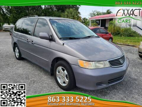 2000 Honda Odyssey for sale at Exxact Cars in Lakeland FL