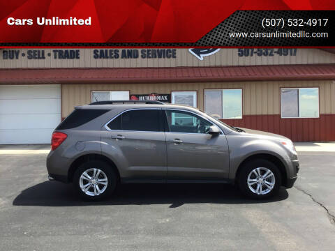 2012 Chevrolet Equinox for sale at Cars Unlimited in Marshall MN