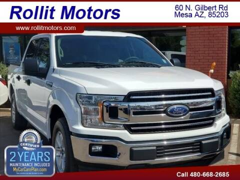 2018 Ford F-150 for sale at Rollit Motors in Mesa AZ