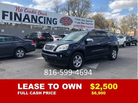 2011 GMC Acadia for sale at Auto Mart USA -Lease To Own in Kansas City MO