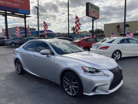 2016 Lexus IS 200t for sale at MACHADO AUTO SALES in Miami FL