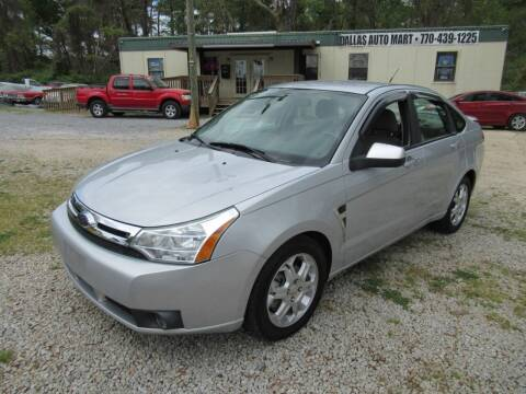 2008 Ford Focus for sale at Dallas Auto Mart in Dallas GA