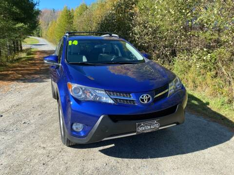 2014 Toyota RAV4 for sale at Denton Auto Inc in Craftsbury VT