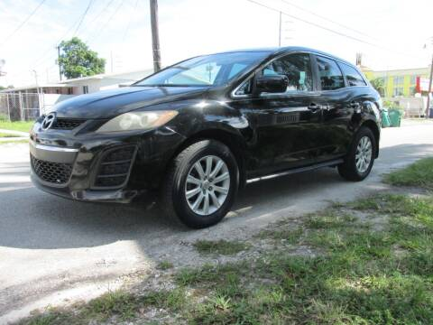 2010 Mazda CX-7 for sale at TROPICAL MOTOR CARS INC in Miami FL