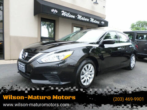 2017 Nissan Altima for sale at Wilson-Maturo Motors in New Haven CT