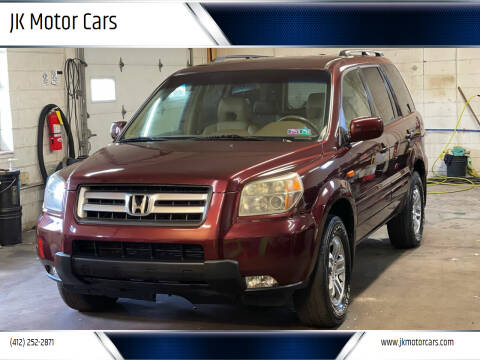 2007 Honda Pilot for sale at JK Motor Cars in Pittsburgh PA