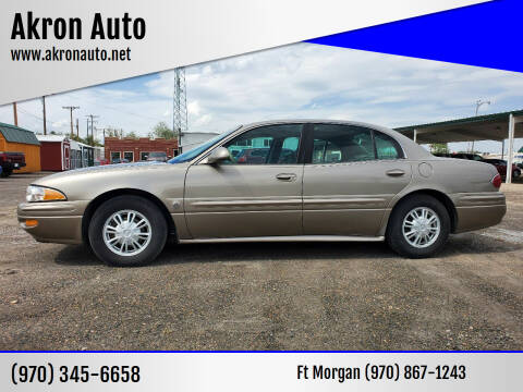 2003 Buick LeSabre for sale at Akron Auto in Akron CO