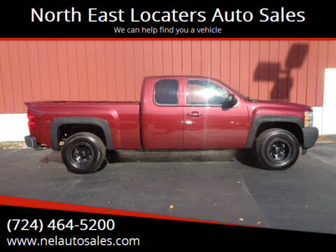 2009 Chevrolet Silverado 1500 for sale at North East Locaters Auto Sales in Indiana PA