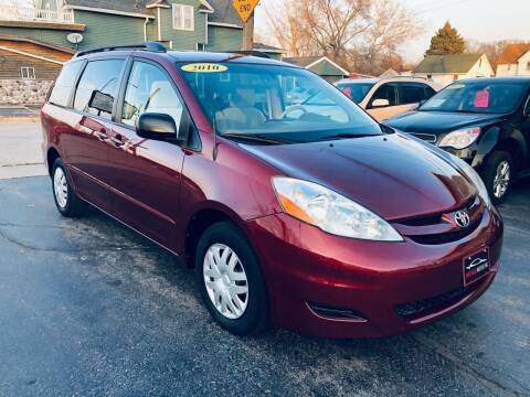 2010 Toyota Sienna for sale at SHEFFIELD MOTORS INC in Kenosha WI