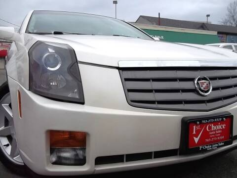 2005 Cadillac CTS for sale at 1st Choice Auto Sales in Fairfax VA