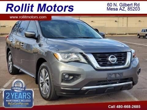 2017 Nissan Pathfinder for sale at Rollit Motors in Mesa AZ