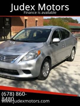 2014 Nissan Versa for sale at Judex Motors in Loganville GA
