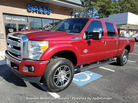 2015 Ford F-250 Super Duty for sale at Michael D Stout in Cumming GA