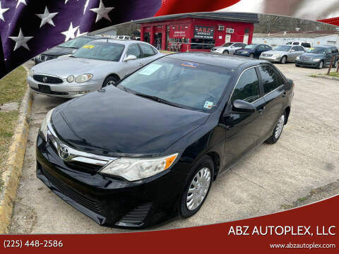 2012 Toyota Camry for sale at ABZ Autoplex, LLC in Baton Rouge LA