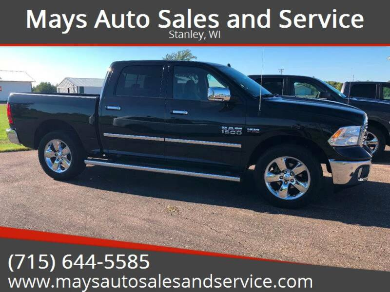 2016 RAM Ram Pickup 1500 for sale at Mays Auto Sales and Service in Stanley WI