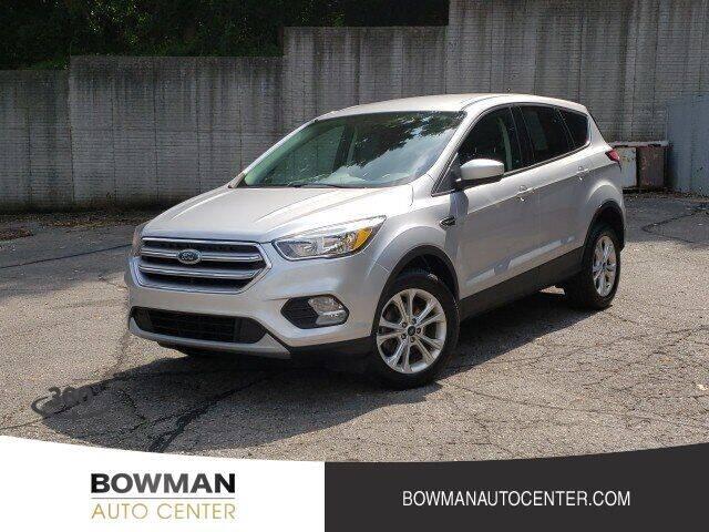 2017 Ford Escape for sale at Bowman Auto Center in Clarkston MI