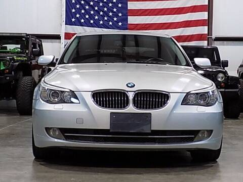 2008 BMW 5 Series for sale at Texas Motor Sport in Houston TX