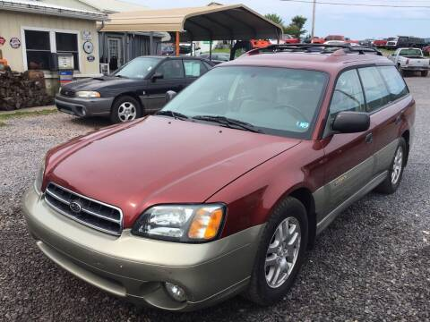 2002 Subaru Outback for sale at Troys Auto Sales in Dornsife PA
