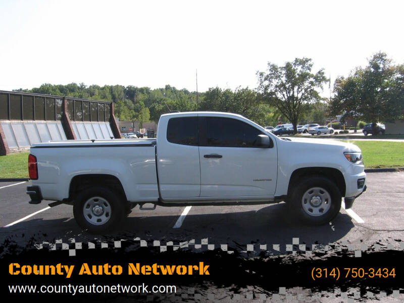 2016 Chevrolet Colorado for sale at County Auto Network in Ballwin MO