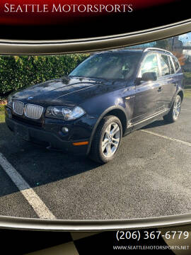 2007 BMW X3 for sale at Seattle Motorsports in Shoreline WA