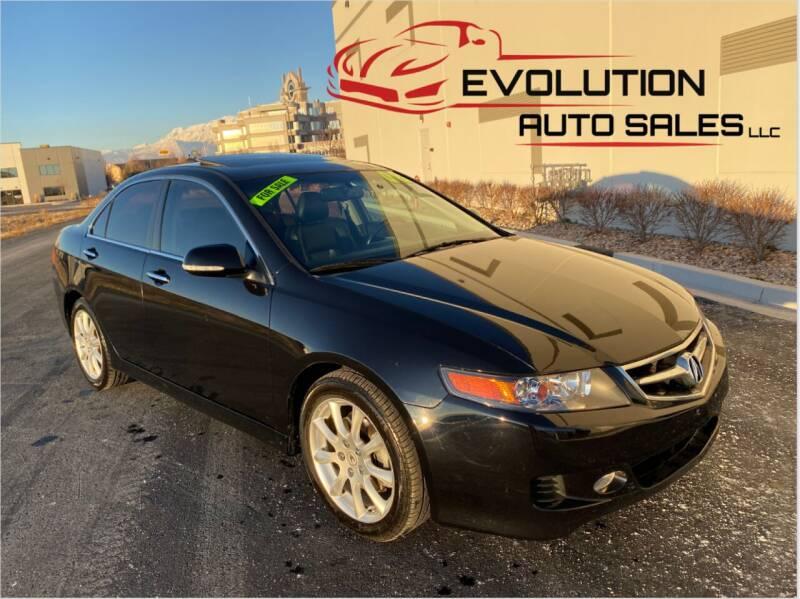 2008 Acura TSX for sale at Evolution Auto Sales LLC in Springville UT