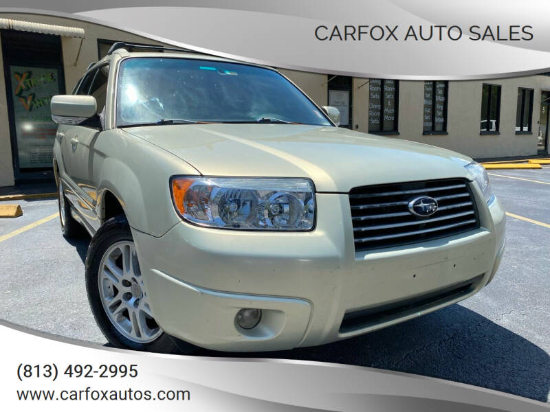 2006 Subaru Forester for sale at Carfox Auto Sales in Tampa FL