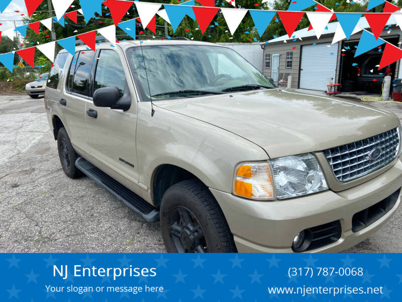 2005 Ford Explorer for sale at NJ Enterprises in Indianapolis IN