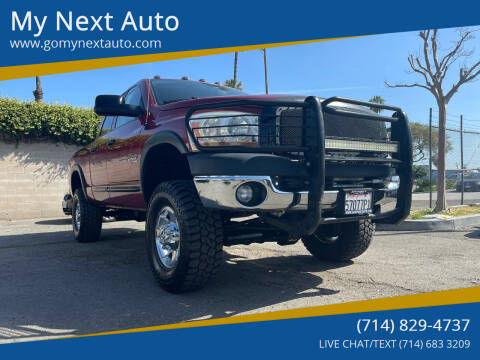 2006 Dodge Ram Pickup 2500 for sale at My Next Auto in Anaheim CA