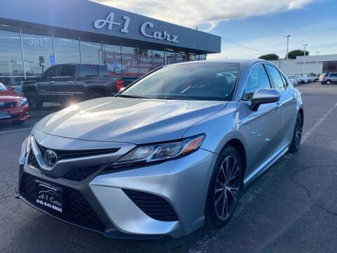 2018 Toyota Camry for sale at A1 Carz, Inc in Sacramento CA
