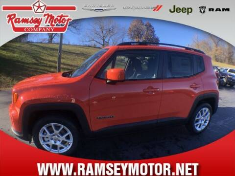 2021 Jeep Renegade for sale at RAMSEY MOTOR CO in Harrison AR