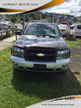 2008 Chevrolet TrailBlazer for sale at Stewart's Motor Sales in Cambridge/Byesville OH