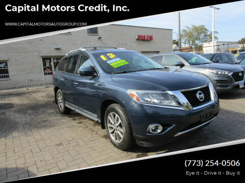 2013 Nissan Pathfinder for sale at Capital Motors Credit, Inc. in Chicago IL