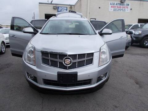 2012 Cadillac SRX for sale at ACH AutoHaus in Dallas TX