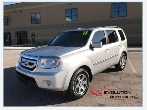2011 Honda Pilot for sale at Evolution Auto Sales LLC in Springville UT