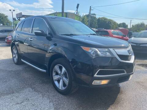 2012 Acura MDX for sale at Marvin Motors in Kissimmee FL