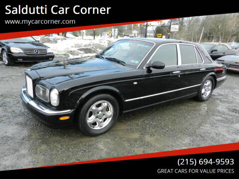 1999 Bentley Arnage for sale at Saldutti Car Corner in Gilbertsville PA