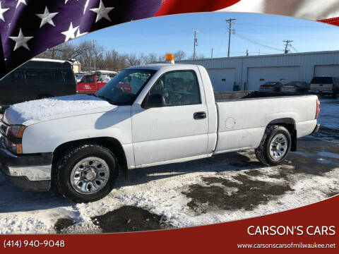 2006 Chevrolet Silverado 1500 for sale at Carson's Cars in Milwaukee WI