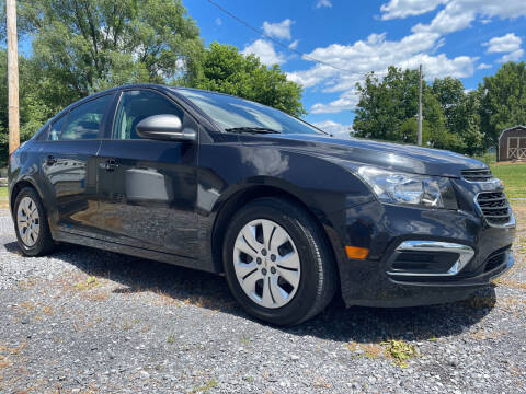 2015 Chevrolet Cruze for sale at CESSNA MOTORS INC in Bedford PA