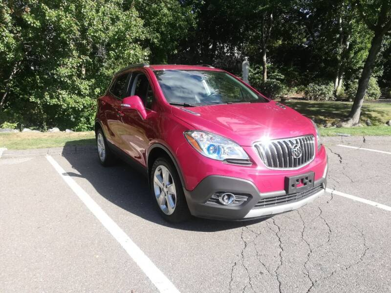 2016 Buick Encore for sale at UNITED AUTO SALES & SERVICE  INC in Waterbury CT