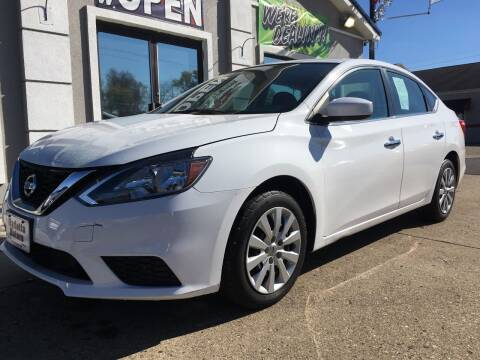 2018 Nissan Sentra for sale at MARIETTA MOTORS LLC in Marietta OH